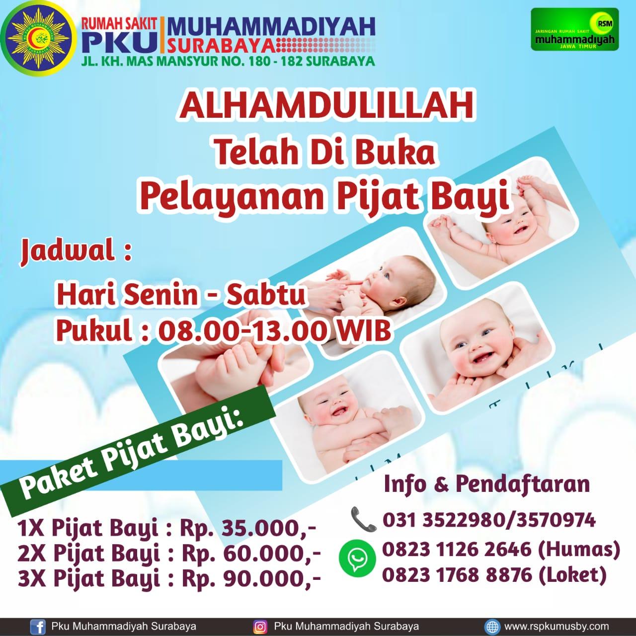 Paket Pijat Bayi