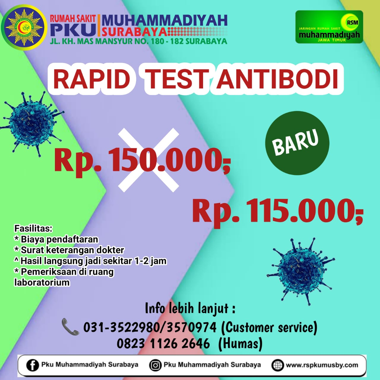 Tarip Rapid Antobodi